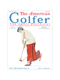 The American Golfer July 25, 1925 Regular Giclee Print by James Montgomery Flagg