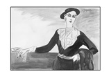 Vogue - February 1934 Regular Giclee Print by R.S. Grafstrom