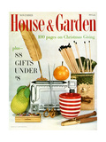 House & Garden Cover - November 1957 Regular Giclee Print by Frances Mclaughlin-Gill