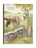 The New Yorker Cover - June 11, 1955 Regular Giclee Print by Perry Barlow