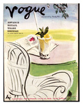 "Vogue Cover - June 1938 Regular Giclee Print by Carl ""Eric"" Erickson"