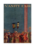 Vanity Fair Cover - April 1914 Reproduction procédé giclée par Raymond Crawford Ewer