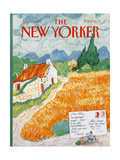 The New Yorker Cover - July 31, 1989 Regular Giclee Print by Kenneth Mahood