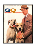 GQ Cover - February 1958 Reproduction procédé giclée par Emme Gene Hall