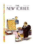 The New Yorker Cover - October 23, 1965 Giclee Print by Charles Saxon