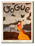 Vogue Cover - October 1924 Giclee Print by Georges Lepape