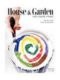 House & Garden Cover - September 1950 Giclee Print by Herbert Matter