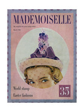 Mademoiselle Cover - March 1948 Giclee Print by Mark Shaw