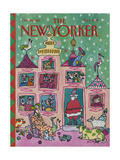 The New Yorker Cover - December 28, 1981 Regular Giclee Print by William Steig