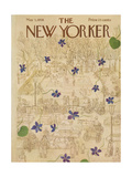 The New Yorker Cover - May 3, 1958 Regular Giclee Print by Ilonka Karasz