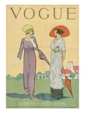 Vogue Cover - June 1911 Regular Giclee Print by Helen Dryden