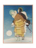 Vogue - December 1920 Regular Giclee Print by George Wolfe Plank