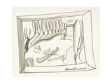 House & Garden - January 1939 Giclee Print by Ludwig Bemelmans