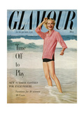 Glamour Cover - May 1954 Regular Giclee Print by  Leombruno-Bodi