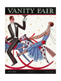 Vanity Fair Cover - June 1925 Giclee Print by Stanley W. Reynolds
