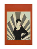Vogue - March 1927 Giclee Print by Harriet Meserole