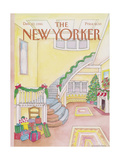 The New Yorker Cover - December 22, 1986 Giclée-Druck von Iris VanRynbach
