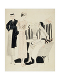 Vogue - January 1933 Giclee Print by R.S. Grafstrom
