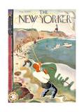 The New Yorker Cover - August 28, 1937 Regular Giclee Print par Bela Dankovszky