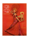 GQ Cover - December 1964 Regular Giclee Print by Chadwick Hall