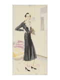 Vogue - January 1931 Giclee Print by R.S. Grafstrom