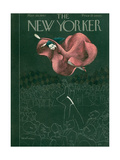 The New Yorker Cover - March 29, 1947 Giclee Print by Christina Malman