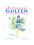 The American Golfer March 8, 1924 Regular Giclee Print by James Montgomery Flagg