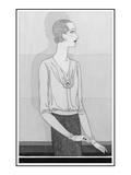 Vogue - November 1929 Giclee Print by Douglas Pollard