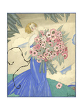 Vogue - June 1923 Giclee Print by Georges Lepape