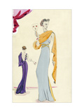 Vogue - October 1935 Regular Giclee Print av Christian Berard