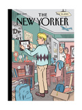 The New Yorker Cover - May 24, 2010 Regular Giclee Print by Dan Clowes