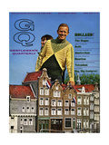 GQ Cover - October 1966 Reproduction procédé giclée par Richard Waite