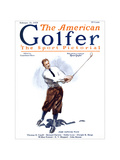 The American Golfer February 21, 1925 Gicl&#233;e-Druck von James Montgomery Flagg