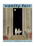 Vanity Fair Cover - February 1930 Giclee Print by Georges Lepape