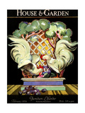 House & Garden Cover - February 1924 Regular Giclee Print by Bradley Walker Tomlin