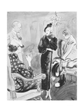 "Vogue - August 1935 Giclee Print by Carl ""Eric"" Erickson"