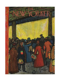 The New Yorker Cover - December 12, 1953 Regular Giclee Print by Abe Birnbaum