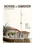 House & Garden Cover - January 1932 Giclee Print by Georges Lepape