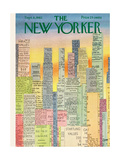The New Yorker Cover - September 8, 1962 Giclee Print by Charles E. Martin