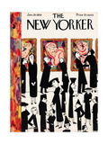 The New Yorker Cover - January 29, 1938 Giclee Print by Christina Malman