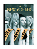 The New Yorker Cover - October 9, 2000 Regular Giclee Print by Ian Falconer