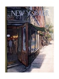 The New Yorker Cover - September 29, 1956 Giclee Print by Arthur Getz