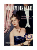 Mademoiselle Cover - November 1938 Regular Giclee Print by Paul D'Ome