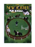 The New Yorker Cover - June 18, 1949 Giclee Print by Edna Eicke