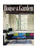 House & Garden Cover - October 1955 Reproduction procédé giclée par William Grigsby