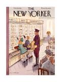 The New Yorker Cover - February 26, 1938 Regular Giclee Print by Helen E. Hokinson