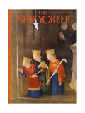The New Yorker Cover - December 22, 1951 Regular Giclee Print by William Cotton