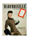 Mademoiselle Cover - November 1942 Regular Giclee Print by Robert Weitzen