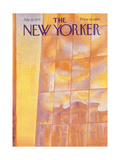 The New Yorker Cover - July 22, 1974 Regular Giclee Print by Eugène Mihaesco