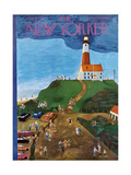 The New Yorker Cover - July 21, 1951 Regular Giclee Print by Ilonka Karasz
